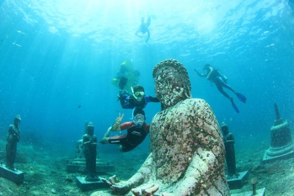 nusa lembongan diving budha
