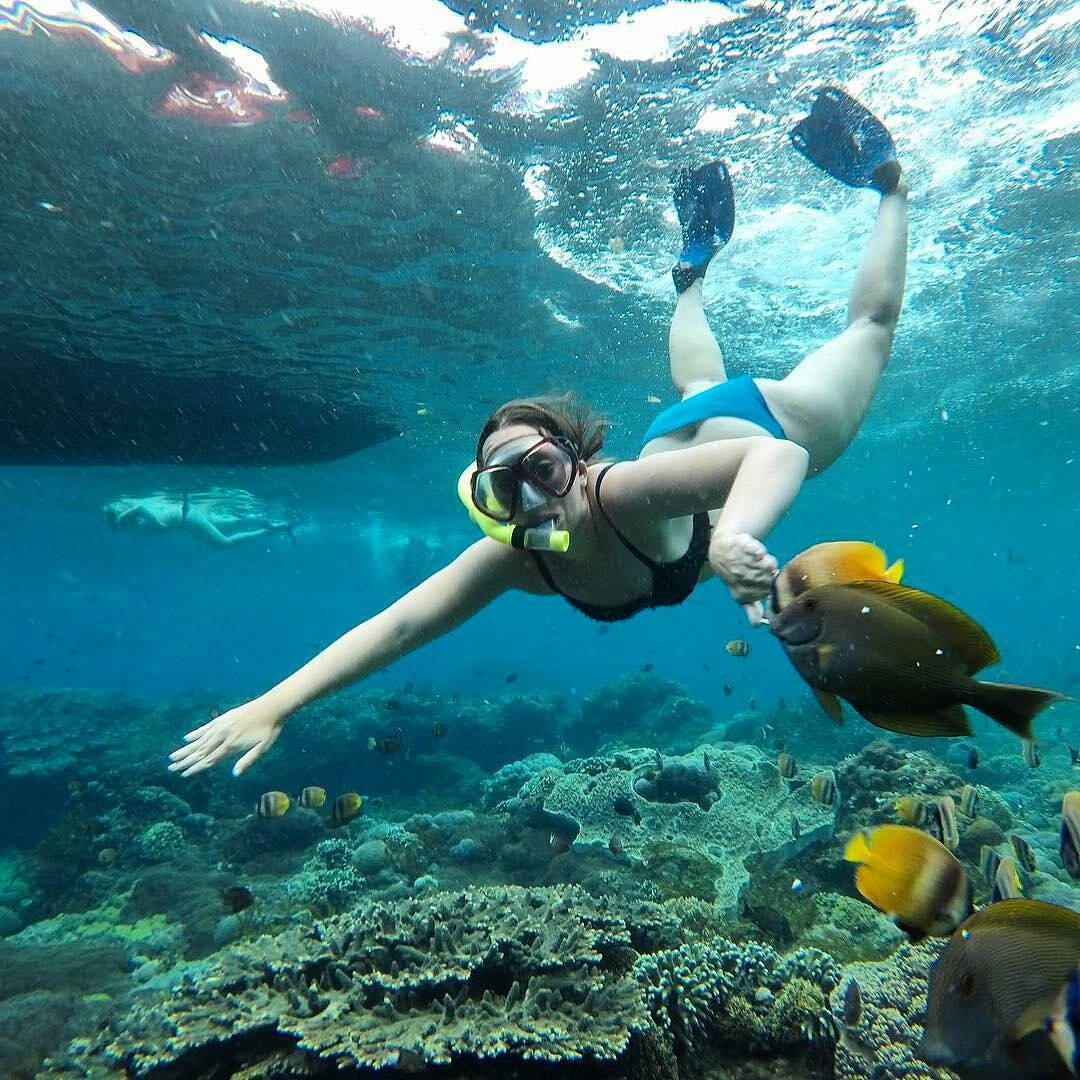 best snorkeling nusa lembongan