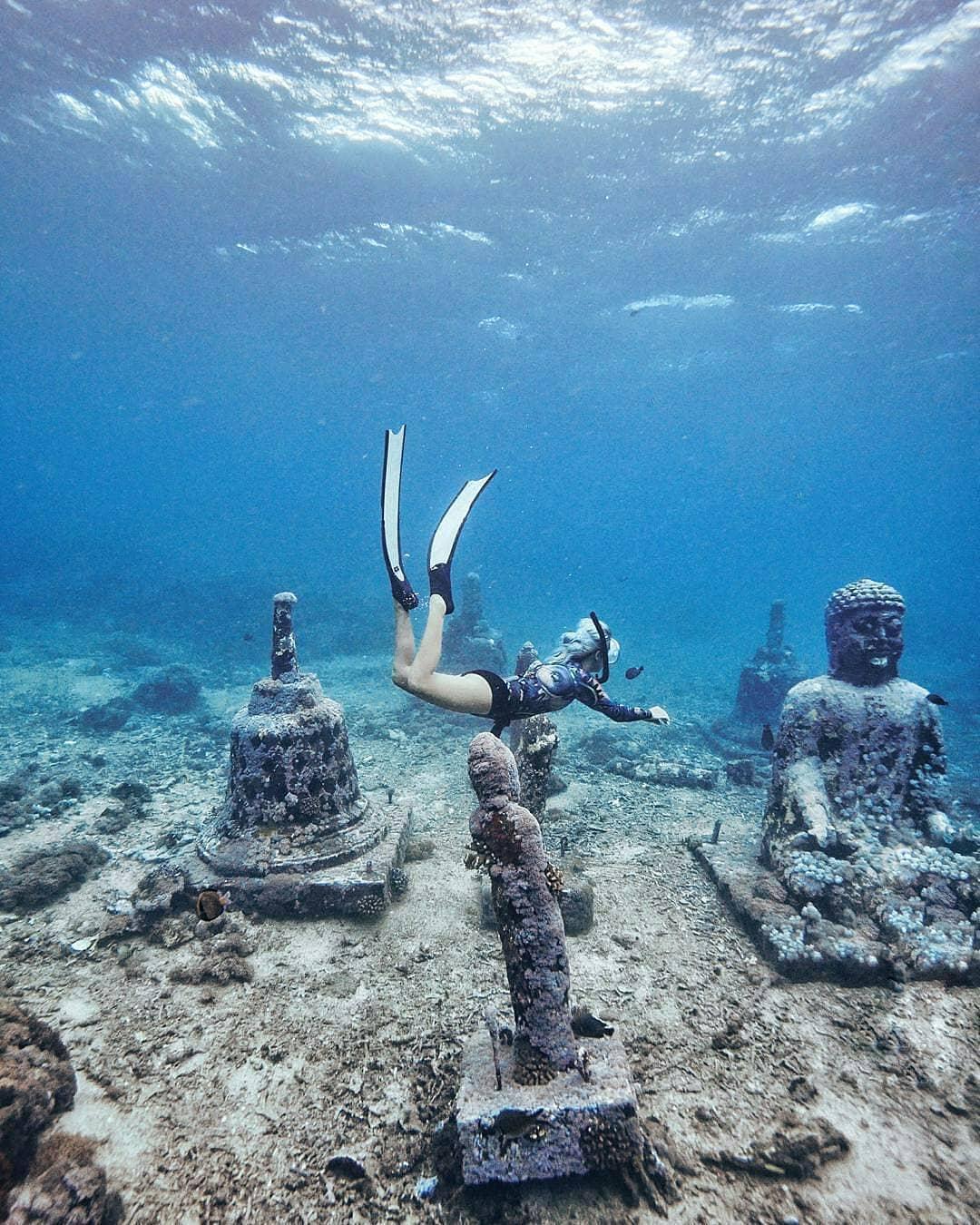 snorkeling at nusa penida