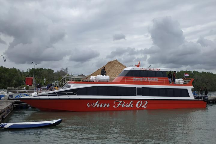 Fastboat to lembongan-penida