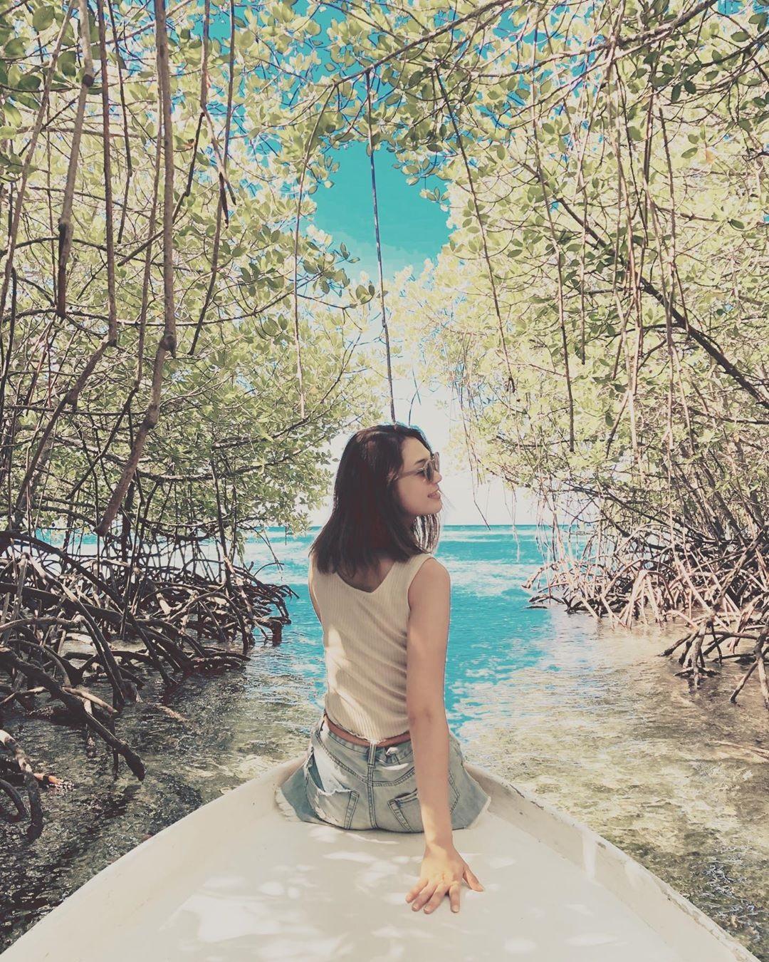 mangrove forest at nusa lembongan