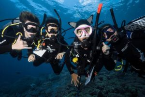 scuba diving day trip to nusa lembongan