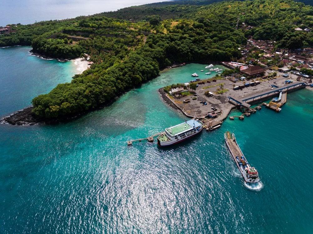 padangbai harbour