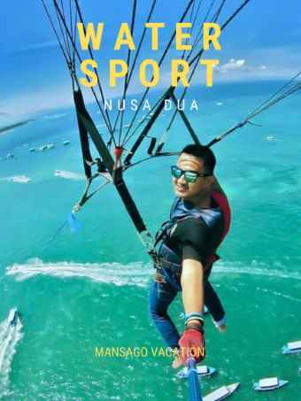 parasiling watersport nusa dua