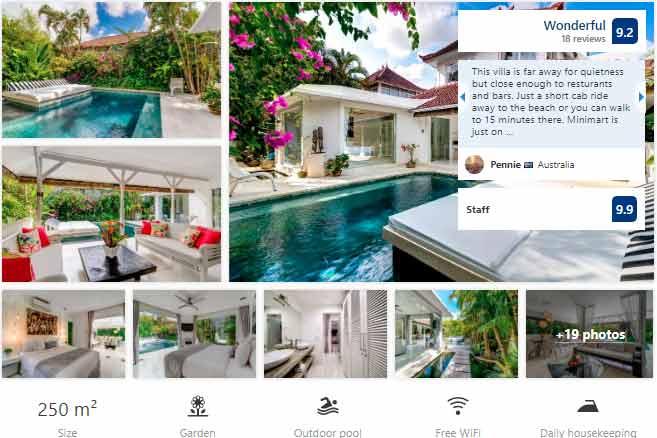 3 bedroom villas at seminyak