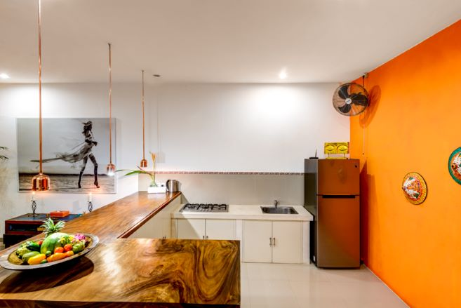 villa eshina 2 seminyak kitchen